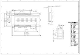 lcd wiring diagram carlplant