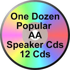one dozen 12 good alcoholics anonymous speaker cds bob olsen and