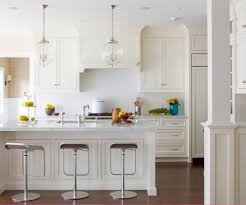 cool glass pendant lighting over kitchen also for island ideas