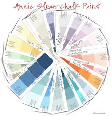 annie sloan chalk paint color wheel colorways with leslie stocker