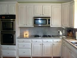white kitchen cabinets stained trim oak bathroom