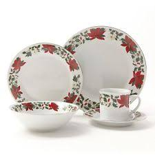 20 gibson dinnerware set berry garland