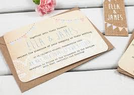 lace burlap and bunting wedding invitation bundle norma u0026dorothy