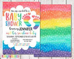 rainbow baby shower etsy