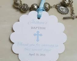 baptism favor 24 mini rosaries approximately 4 boys baptism favors