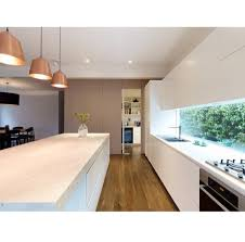 kitchen window splash back lighting open plan simple and