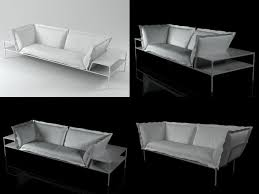 Yale Sofa Bed 3d Model Yale Sofa Contemporary Design Cgtrader