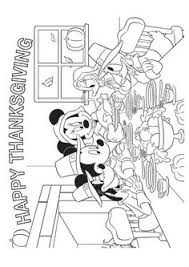 print coloring image thanksgiving