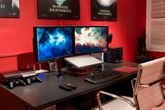 ultimate gaming desk setup simplistic and industrial workspace setup arch my room for