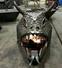 Dragon Fire Pit by Dragon Head Pictures 02 Dragons Pinterest Dragon Head And