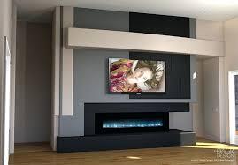 Bookshelf Entertainment Center Wall Entertainment Center With Fireplace Built In Fireplace