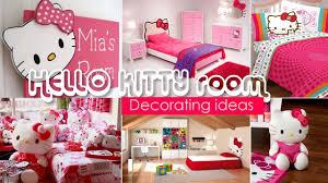 hello kitty bedroom furniture decor o set full wall decorations