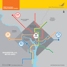 Dc Metro Silver Line Map by Life Expectancy Map Washington D C Area Infographic Rwjf