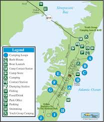 Pony Express Route Map by Assateague State Park Find Campgrounds Near Berlin Maryland