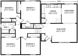 split level floor plan floorplans from maryland modular homes
