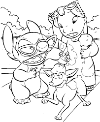 lilo stitch coloring pages printable coloringstar