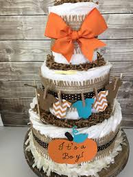 fall baby shower diaper cake fall boy diaper cake it u0027s a boy