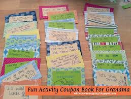 Printable Halloween Candy Coupons by Mom Or Grandma Gift Activity Coupons Free Printable While He