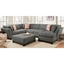 rc willey sofa gray upholstered 3 piece casual contemporary sectional loxley