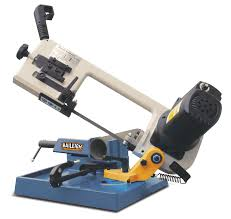 baileigh bs 127p portable horizontal bandsaw elite metal tools