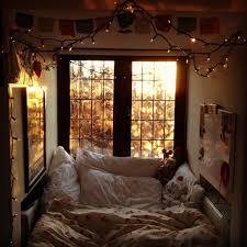 an entry from a beautiful mess nook cozy nook and sleeping nook