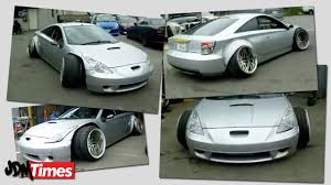 stanced toyota celica crazy camber stance celica drift car youtube