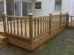 garden wooden backyard home decoration feature wooden deck with