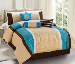 total fab earth u0026 sky blue and beige comforters u0026 bedding sets