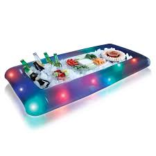 table top cooler for food an instant tabletop cooler you can take anywhere flashing lights
