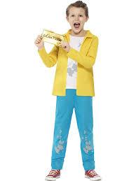 smiffy u0027s official roald dahl character fancy dress costume amazon