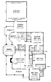 simple floor plans with wrap around porch
