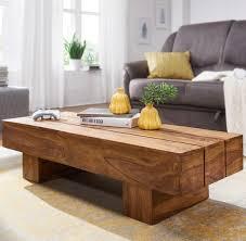 Wohnzimmer Zu Dunkel Finebuy Couchtisch Massiv Holz Sheesham 120cm Breit Design