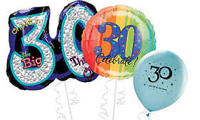 birthday ballon delivery 30th birthday balloon bouquet delivery in portland or 503 285 0000