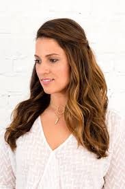 3 half up half down hairstyles you can diy all wedding season
