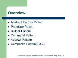 builder pattern in java 8 reference object oriented software development using java jia