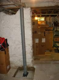 lally column basement pole columns lally lock column systems by