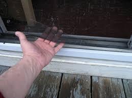 Patio Screen Door Repair Dover Projects How To Repair A Sliding Screen Door