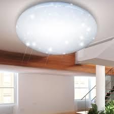 led deckenlampe mit sternen glitzer effekt lampen u0026 möbel
