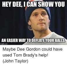 Dee Gordon Meme - hey dee can show you an easier waytodeflate your balls maybe dee