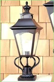 solar powered outdoor light bulbs solar light for l post luxury outdoor l post light solar light