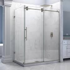 Bel Shower Door by Elegant Full Shower Enclosure Frameless Shower Door Leaks Youtube