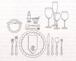 Formal Table Setting Formal Place Setting Layout Crowdbuild For