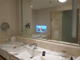 tv in the mirror bathroom tv fitted in the bathroom mirror picture of four seasons hotel
