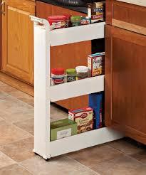 amazon com miles kimball 3 tier slim storage cart home u0026 kitchen