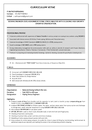 Offshore Resume Samples by Download Piping Stress Engineer Sample Resume
