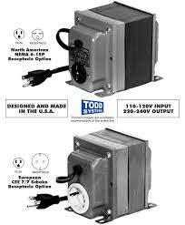 todd systems su 12 110 120v to 220 240v stepup autotransformer
