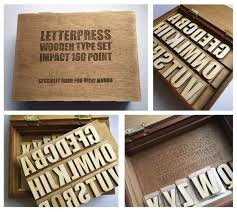 letter press laser cut letterpress type 6 steps with pictures