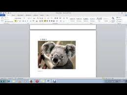 cara membuat daftar gambar word cara membuat daftar gambar otomatis ms word 2010 youtube