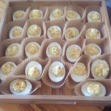 deviled eggs trays no deviled egg tray no worries i used cupcake holders