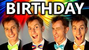 birthday song the beatles a cappella barbershop quartet